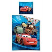 Obliečky Cars Disney , Barva - Modrá , Rozměr textilu - 140x200