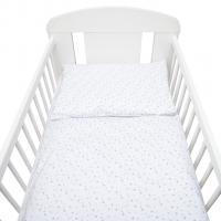 Obliečky do postieľky New Baby , Rozměr textilu - 100x135 , Barva - Bílo-šedá