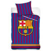 Povlečení FC Barcelona Clean , Barva - Modrá , Rozměr textilu - 140x200