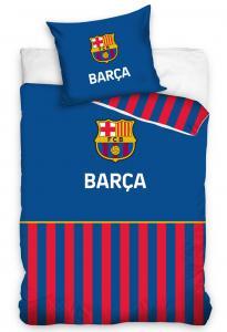 Povlečení FC Barcelona Pajamas , Barva - Modrá , Rozměr textilu - 140x200