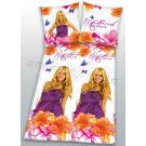 Obliečky Hannah Montana , Barva - Biela , Rozměr textilu - 140x200