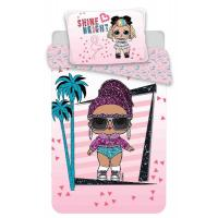 Obliečky LOL Surprise , Barva - Ružová , Rozměr textilu - 140x200