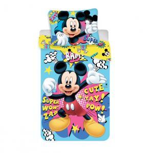Obliečky Mickey BAM micro , Rozměr textilu - 140x200