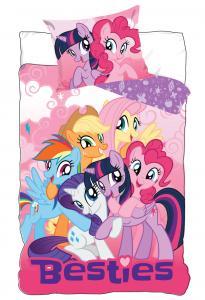 Obliečky My Little Pony , Barva - Ružová , Rozměr textilu - 140x200