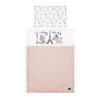 Obliečky Paris , Barva - Ružová , Rozměr textilu - 90x120