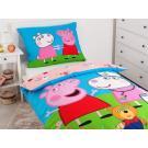 OBLIEČKY PEPPA PIG , Rozměr textilu - 140x200 , Barva - Barevná
