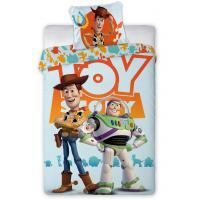 Povlečení Příběh Hraček Buzz Rakeťák a Woody , Barva - Světlo modrá , Rozměr textilu - 140x200