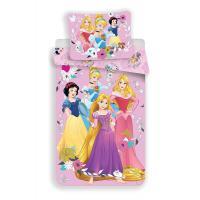 Obliečky Princess Disney , Barva - Ružová , Rozměr textilu - 140x200