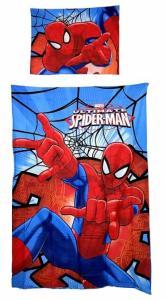 Povlečení Spiderman , Rozměr textilu - 140x200 , Barva - Červeno-modrá