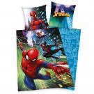 Povlečení Spiderman , Rozměr textilu - 140x200 , Barva - Modrá