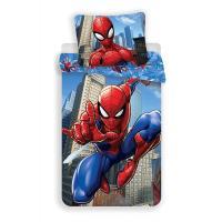 Obliečky Spiderman , Barva - Modrá , Rozměr textilu - 140x200