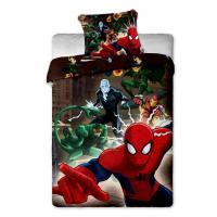Povlečení Spiderman , Barva - Barevná , Rozměr textilu - 140x200