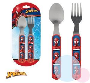 PRÍBOR Spiderman , Barva - Červená