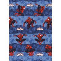 Prostěradlo Spiderman , Barva - Modrá , Velikost - 140x200