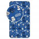 Plachta Star Wars blue galaxy , Rozměr textilu - 90x200 , Barva - Tmavo modrá