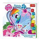 Puzzle My Little Pony 8 dielikov , Barva - Barevná