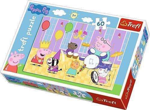 PUZZLE Peppa Pig 60 dílků 009542b4285