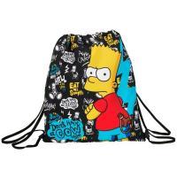 Pytlík na přezůvky Bart Simpson , Barva - Čierna