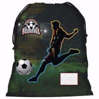 Pytlík na přezůvky Fotbal , Barva - Tmavo zelená