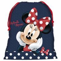 Pytlík na přezůvky Minnie Mouse , Barva - Tmavo modrá