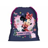 Vrecúško na prezúvky Minnie Mouse , Barva - Tmavo modrá