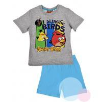 Pyžamo ANGRY BIRDS , Barva - Světlo modrá , Velikost - 104