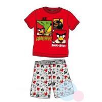 PYŽAMO Angry Birds , Barva - Šedo-červená , Velikost - 104