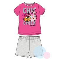 Pyžamo ANGRY BIRDS , Barva - Růžovo-šedá , Velikost - 104