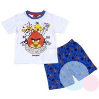 Pyžamo Angry Birds , Velikost - 104 , Barva - Biela