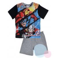 Pyžamo Avengers , Barva - Černo-šedá , Velikost - 104