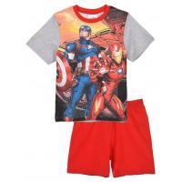 PYŽAMO Avengers , Velikost - 104 , Barva - Šedo-červená