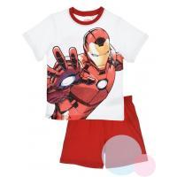 Pyžamo Avengers Iron Man , Barva - Bielo-červená , Velikost - 104