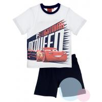 PYŽAMO CARS Disney , Barva - Bielo-modrá , Velikost - 98