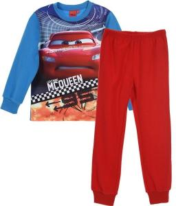 Pyžamo Cars Disney fleec , Barva - Modro-červená , Velikost - 98