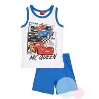 PYŽAMO CARS , Barva - Bielo-modrá , Velikost - 98
