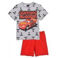 PYŽAMO CARS Disney , Velikost - 128 , Barva - Šedo-červená
