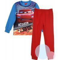 PYŽAMO CARS fleec , Barva - Modro-červená , Velikost - 128