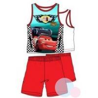 PYŽAMO CARS , Barva - Bielo-červená , Velikost - 98