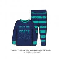 Pyžamo chlapecké , Velikost - 146/152 , Barva - Modrá