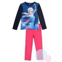 PYŽAMO FROZEN Elsa , Barva - Modro-růžová , Velikost - 116