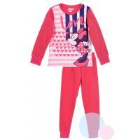 Pyžamo Minnie fleec , Velikost - 104 , Barva - Malinová
