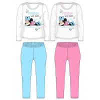 Pyžamo Minnie SWEET DREAMS , Velikost - 128 , Barva - Bielo-modrá