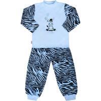 Pyžamo New Baby Zebra s balónkem , Barva - Modrá , Velikost - 92