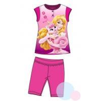 Pyžamo Princezná Ruženka , Barva - Malinová , Velikost - 98