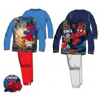 Pyžamo Spiderman , Barva - Modro-červená , Velikost - 98