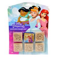 Razítka 5+1 Disney Princezny , Barva - Barevná