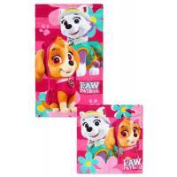 Ručník Paw Patrol 2ks , Barva - Ružová , Rozměr textilu - 30x50