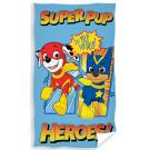 Uterák Paw Patrol Super šteňatá , Rozměr textilu - 30x50 , Barva - Modrá
