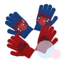 RUKAVICE SPIDERMAN 2ks , Velikost - Uni , Barva - Červeno-modrá