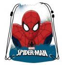 Pytlík na přezůvky Spiderman , Barva - Bielo-modrá